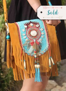 Boho Shoulderbag Red