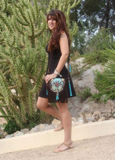 Boho Shoulderbag black