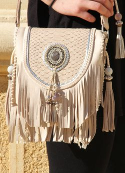 Boho Shoulder Bag Winter Light